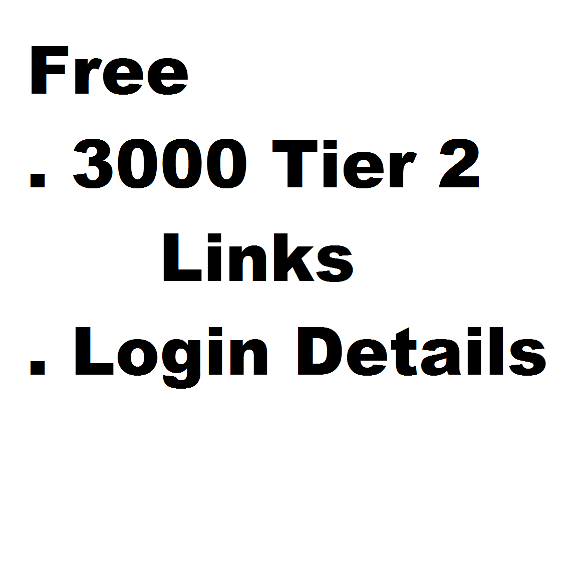 Dofollow 150+ High Authority seo backlinks DA 50 to 99 from 100 domains
