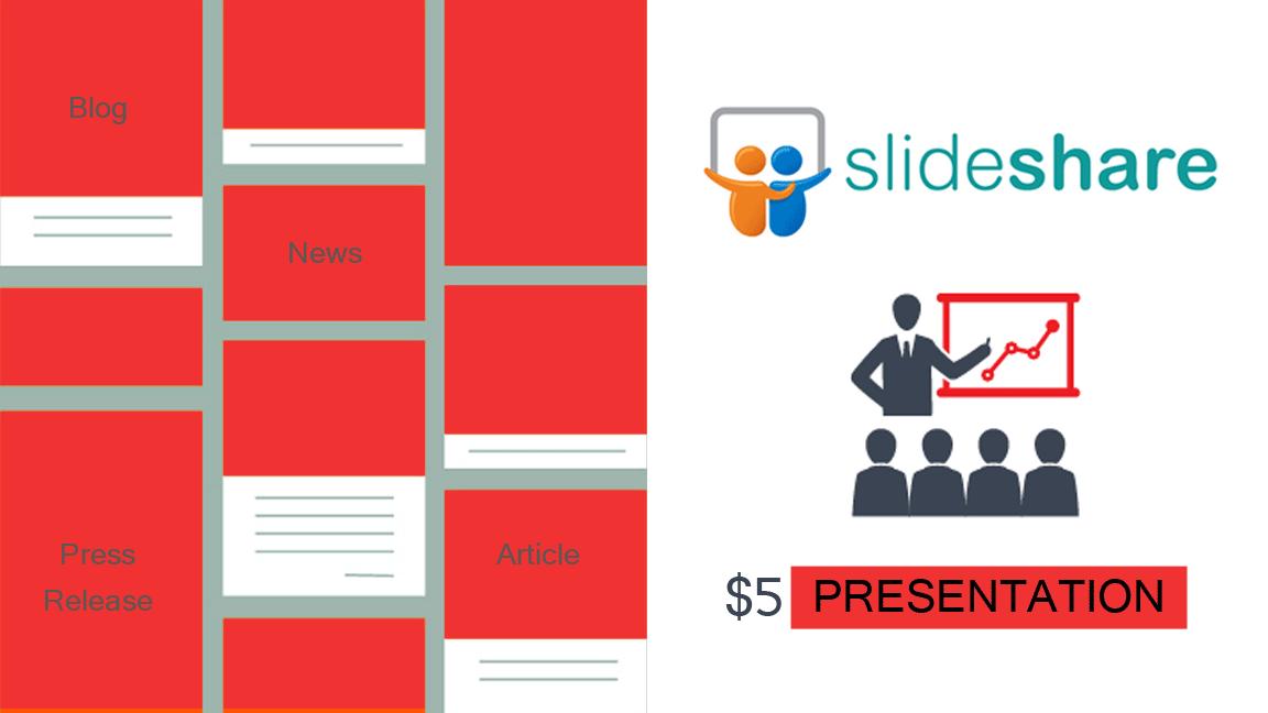 convert blog or article into slideshare presentation