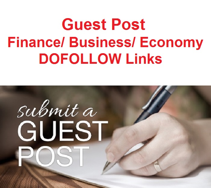 SEO 2 Guest Posts on Finance Business Economy Niche Link Building