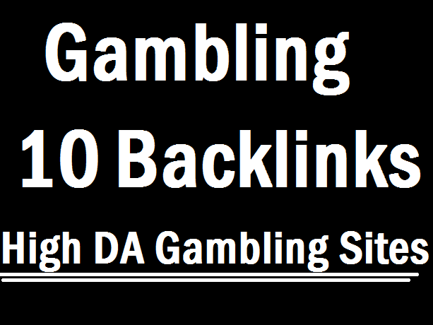 Linkbuilding Guest Post on 10 Gambling Sites