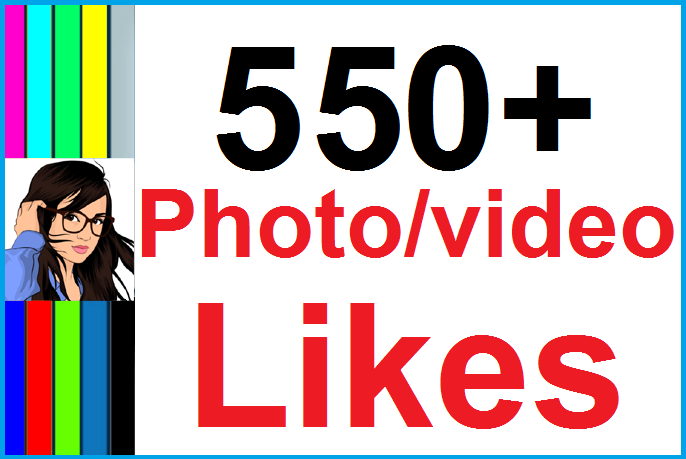 Instantly 500+ Likes In Pic Or 10,000 Views In Video Social Media High Quality