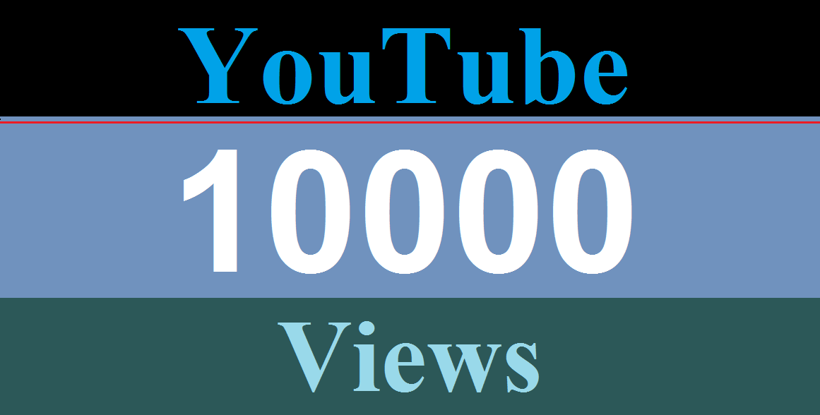 10K/10,000 YouTube views and 200 Like Non Drop very fast delivery within 24-Hours only