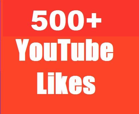 Instant add 500+ YouTube Real Likes to increase your Video rating