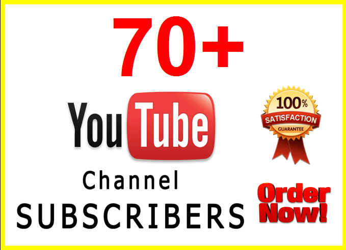 70+ SUPER FAST Youtube Subscribers Within 24 hours
