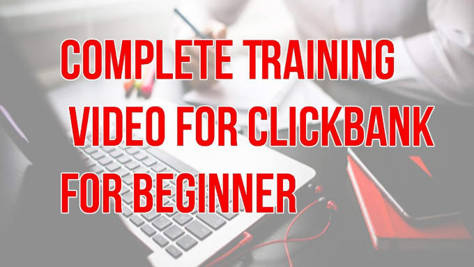 Show you step by step ClickBank course to make huge commissions