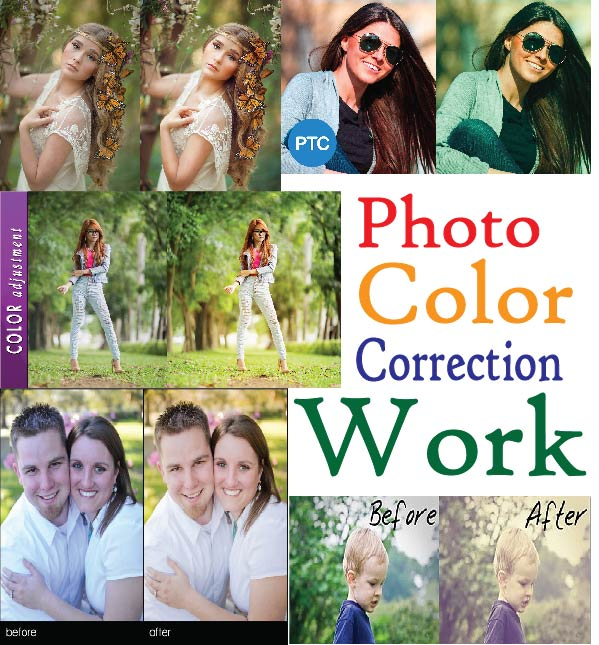 10 Photo color corection with in fast delivery