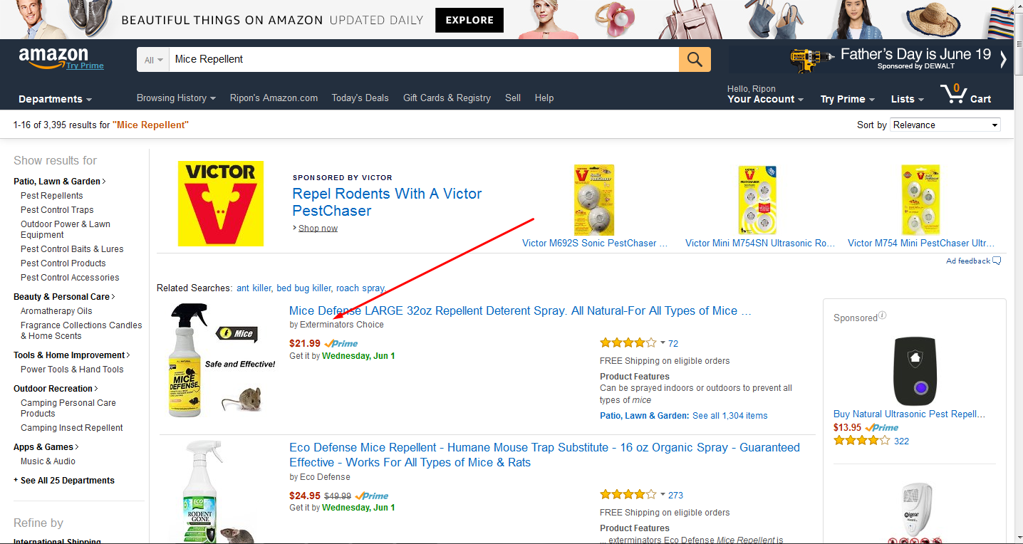 I Rank your product within 3 weeks In Amazon 1st Page
