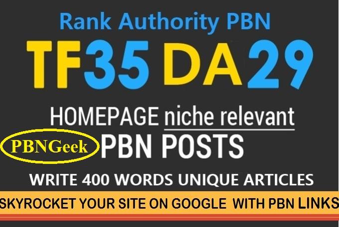 Xtreme 35+TF/CF DA/PA 50+ 10 PBN Homepage Posts