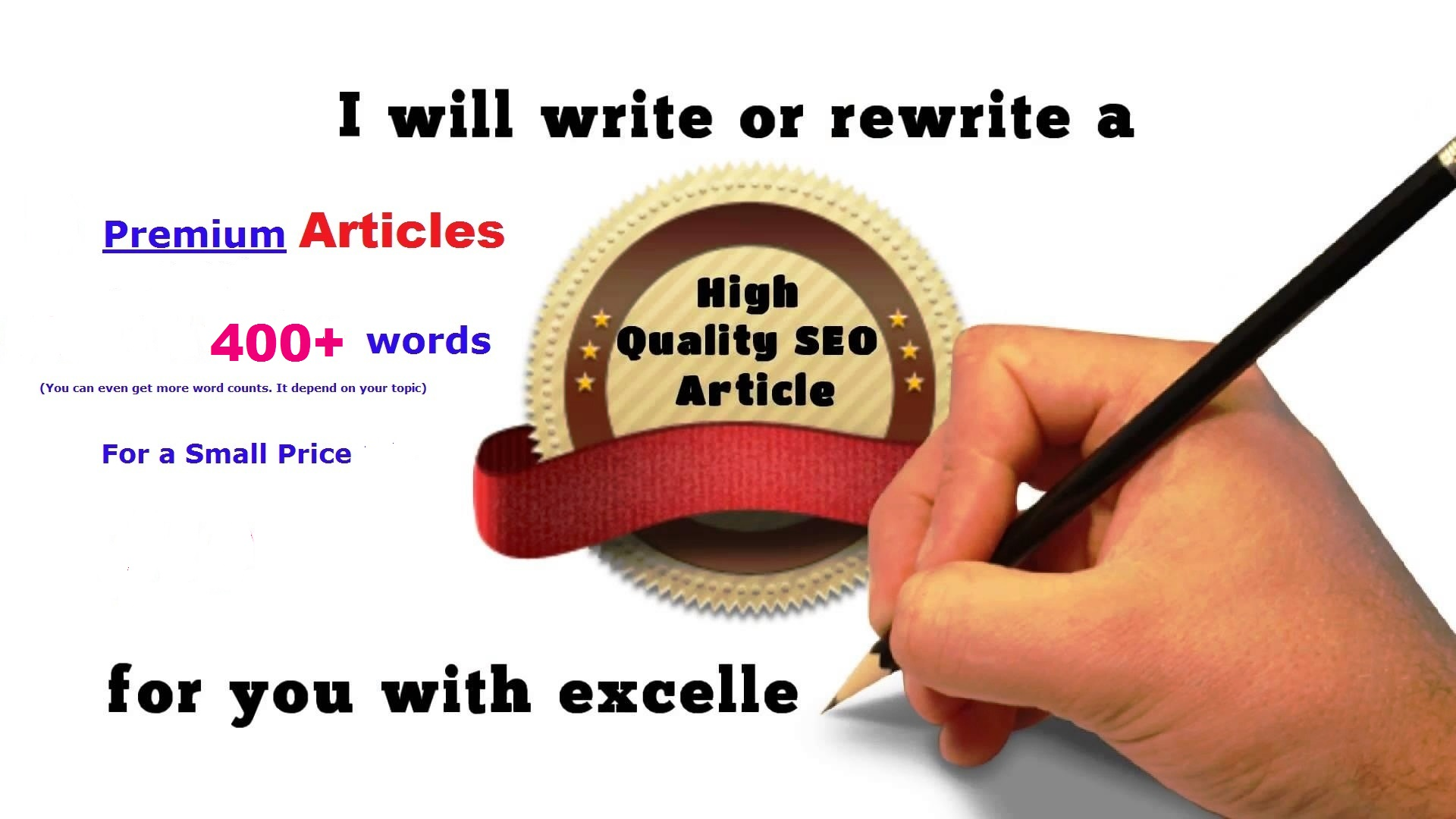 Cheap QUALITY Article -Write For You 400 - 500 Words Fresh and Original Article