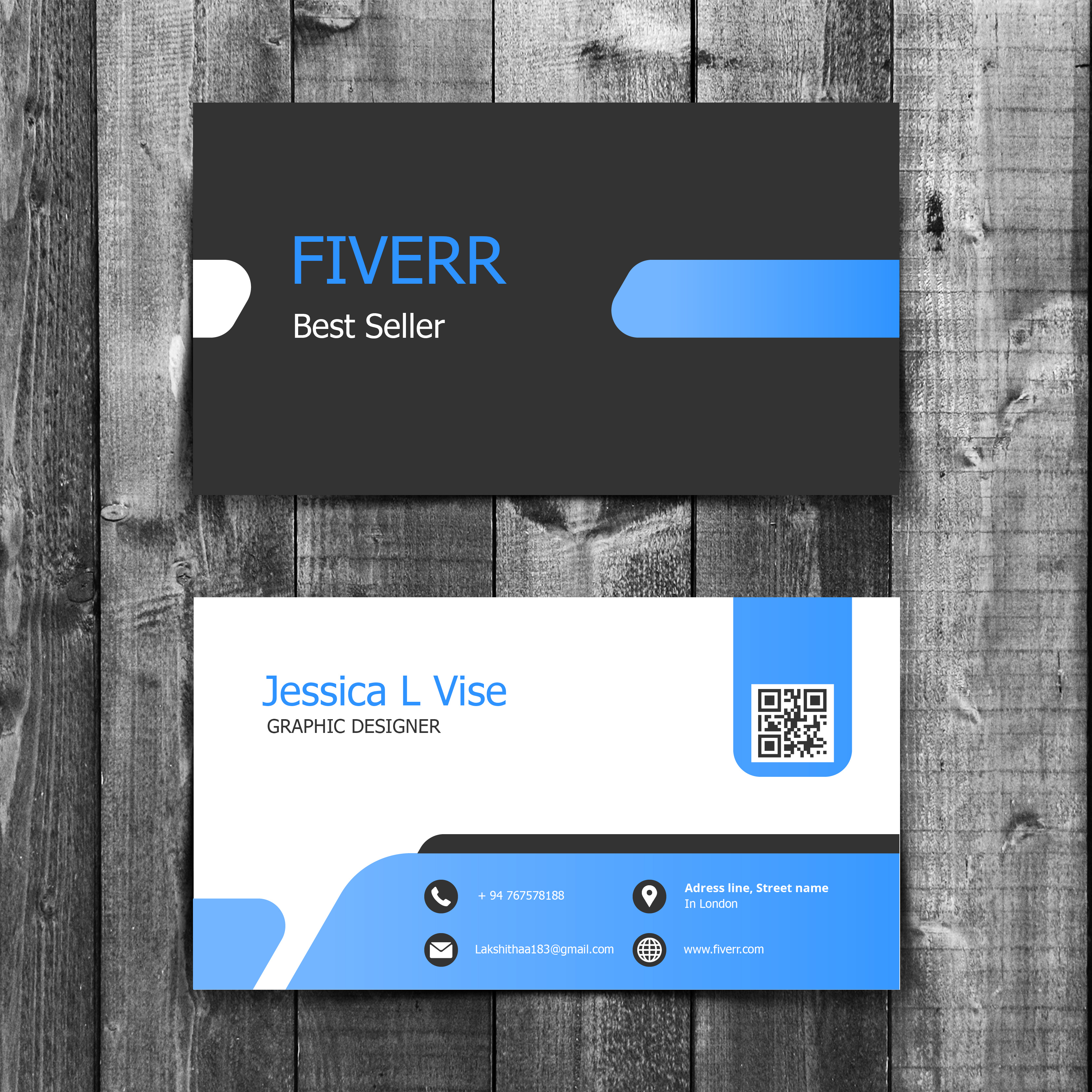 do 5 Different Style PROFESSIONAL Business Card designs