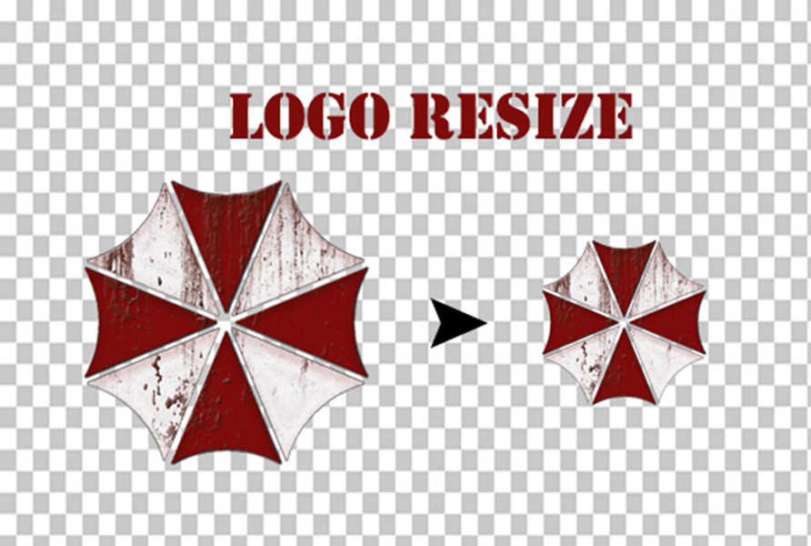 Resize, crop and improve image/logo quality