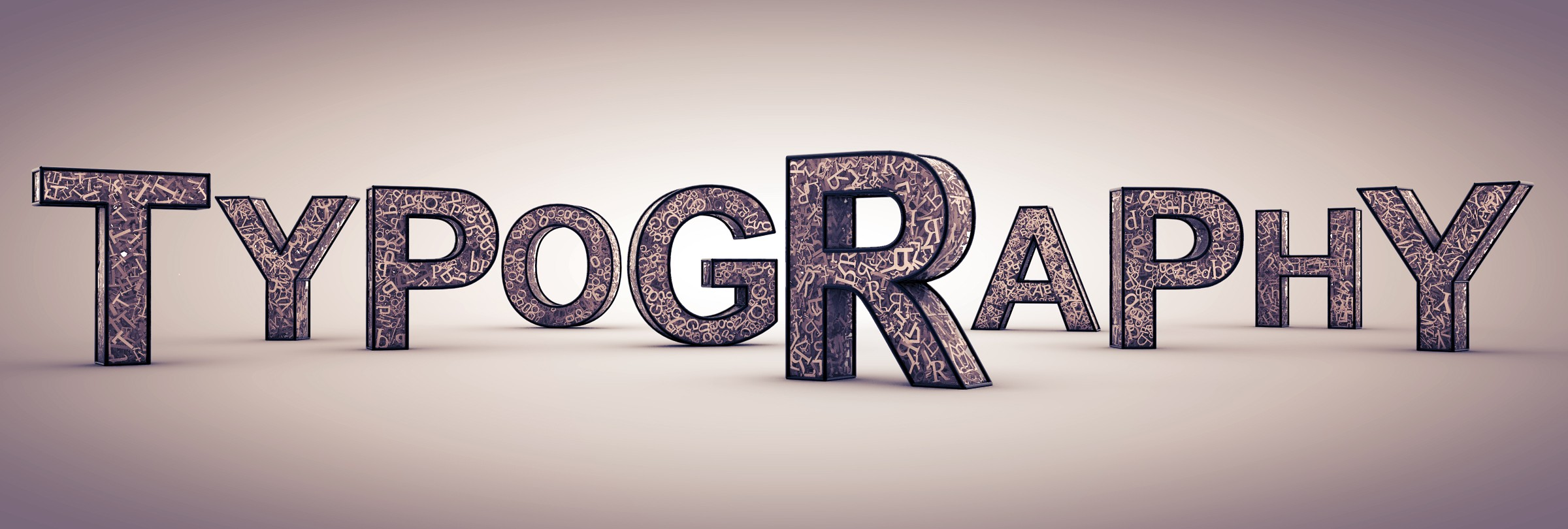 create awesome typography in any shape