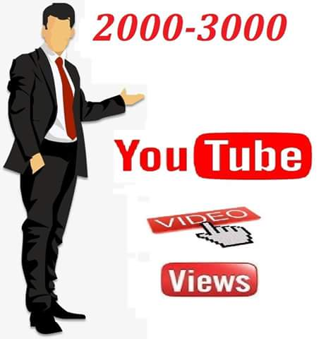 Instant start 4000-5000 Youtube  video   vie ws within 6  hours delivery
