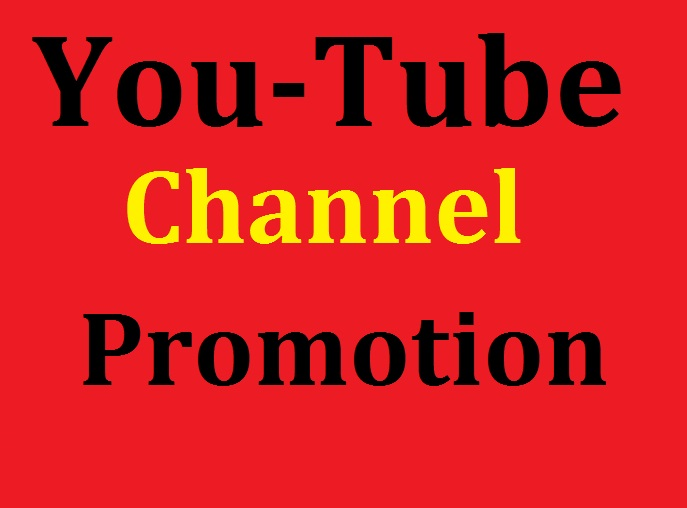 I Will do Manually Channel Promotion Real Users