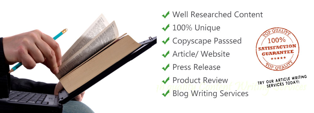 Article writing services requirements