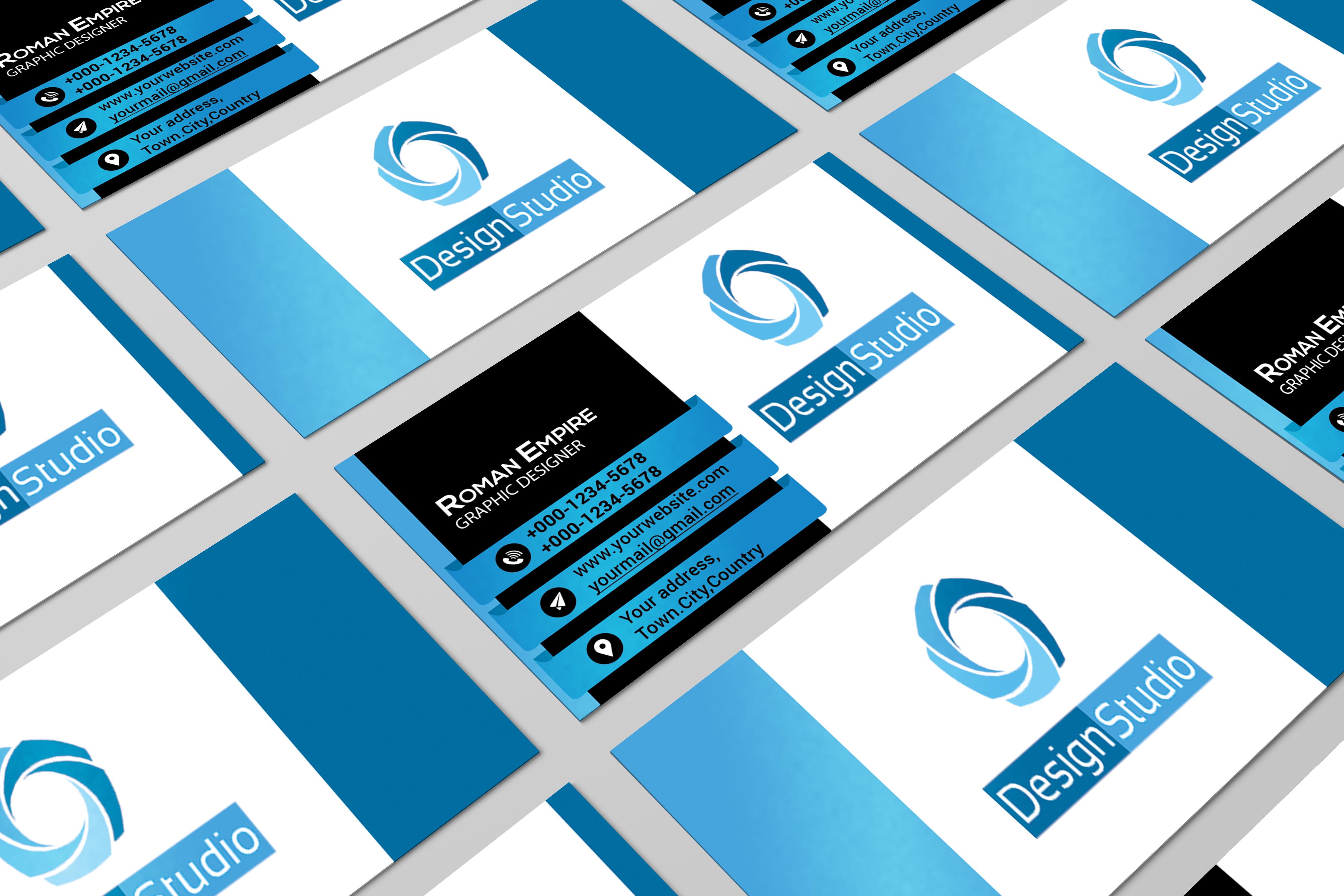 Design 2 CREATIVE Business card for $5 - SEOClerks