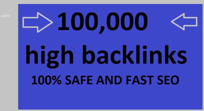 I am provide 100,000 SEO Backlinks,  to Website Improving