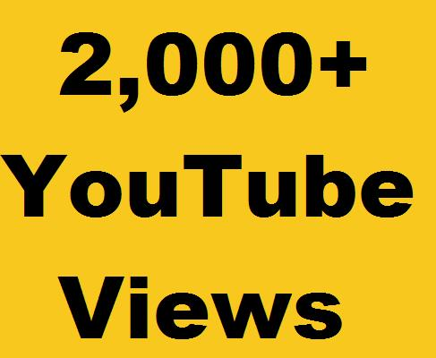 Get Instent 4,000+ HR YouTube Views  Non Drop refill Guarantee Just