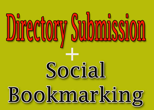 Get 20+ Free Directory Submissions and 20 Social Bookmarking for your website