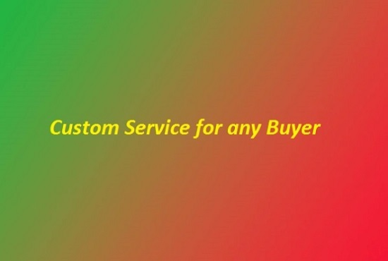 I Will Do Custom Services Promotion Offer For Social Media