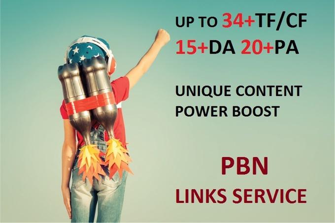 30 High Trust PBN Links