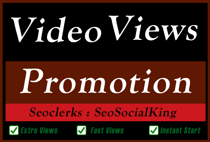 Organic YouTube Video Seo Promotion Marketing for Video Google Ranking