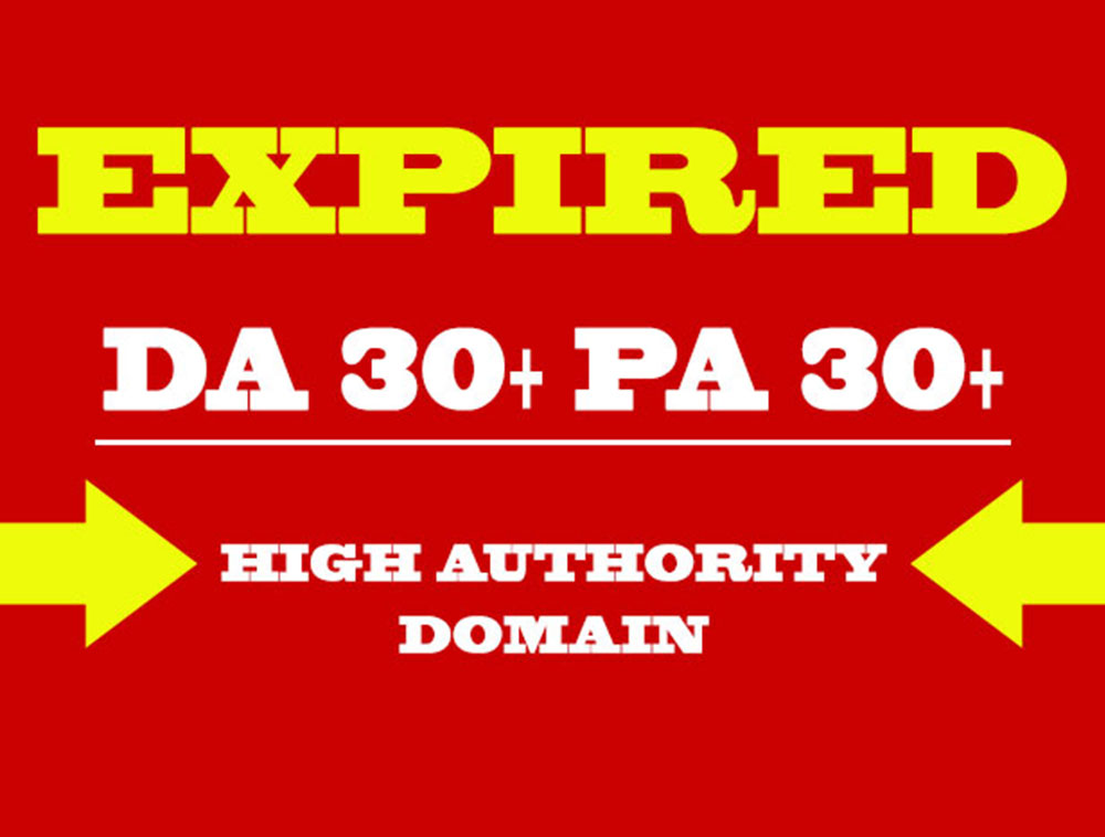 Niche Relevant SEO friendly High Pa Da Cf Tf Expired Domains