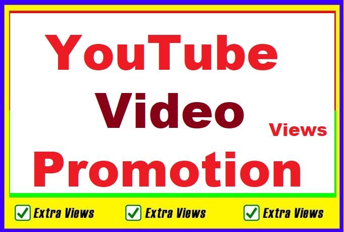 Organic Video Views Promotion Social Media Marketing