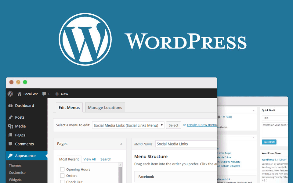Get on the Web with WordPress!