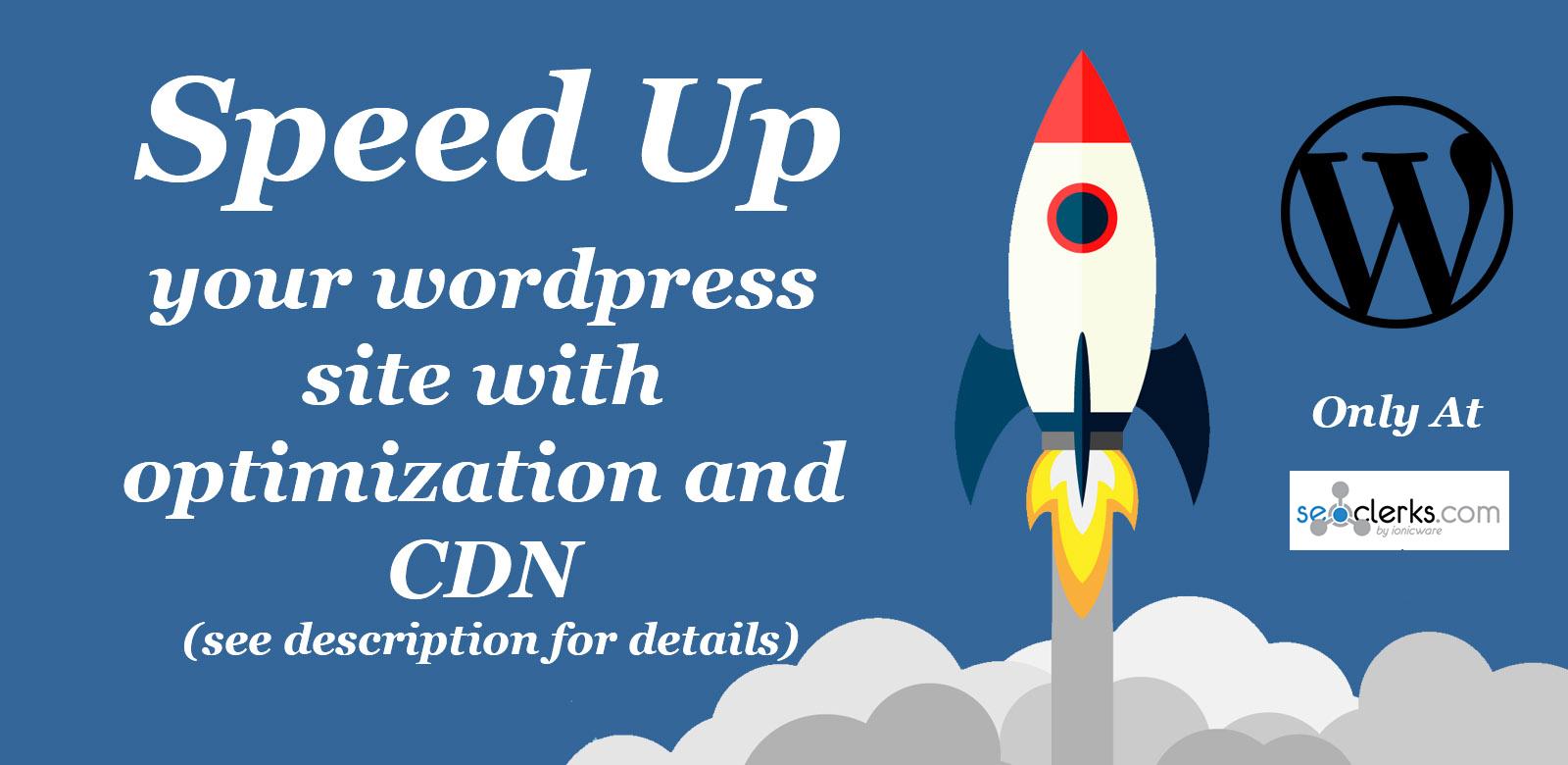 Make your wordpress site fast