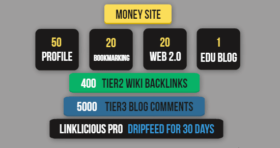 for greater results and traffic build build Omega V1 Exclusive SEO Link Pyramid