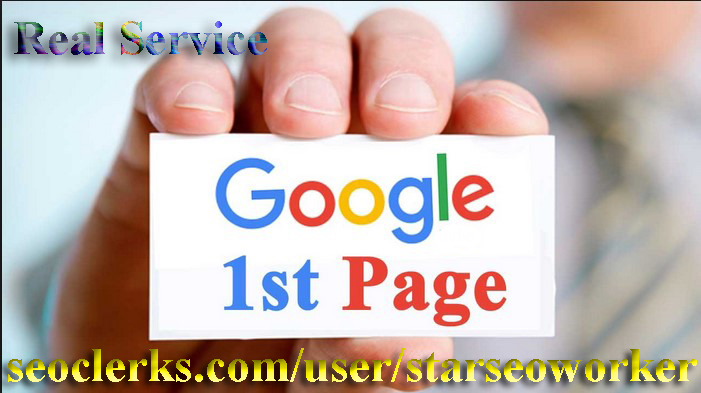 Google FAST Page Ranking SEO Guaranteed Service