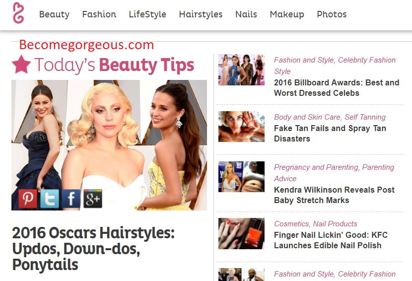 Publish Guest Post On Becomegorgeous.com