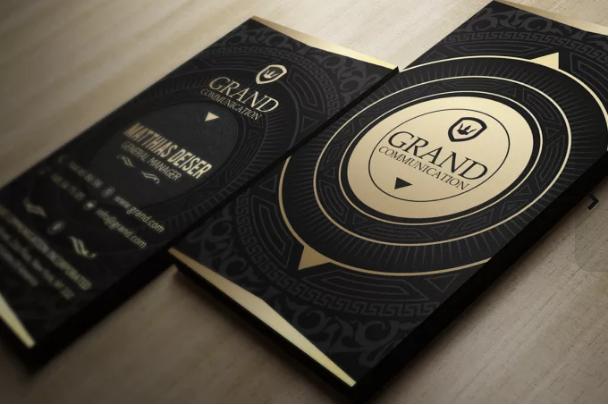 design 2 Premium Business card