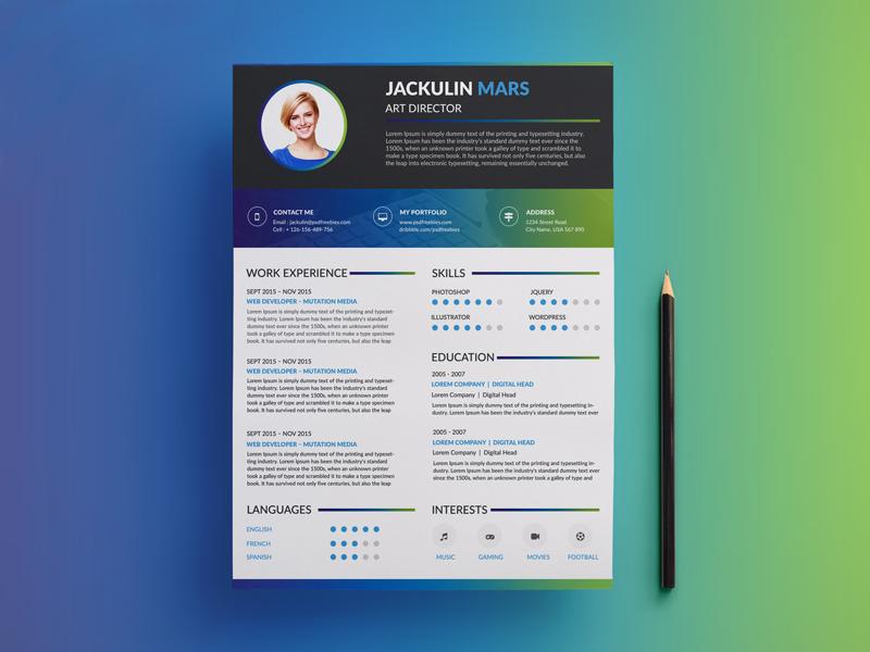 Design Amazing Cv Resume For You For 15 Seoclerks