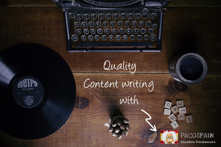 create quality web content for your website