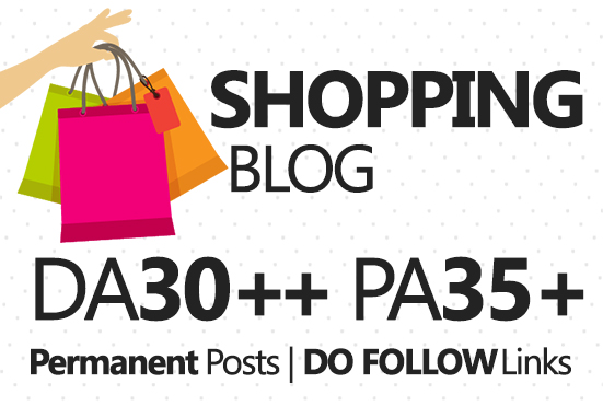 Provide Guest Post in HQ Shopping Blog