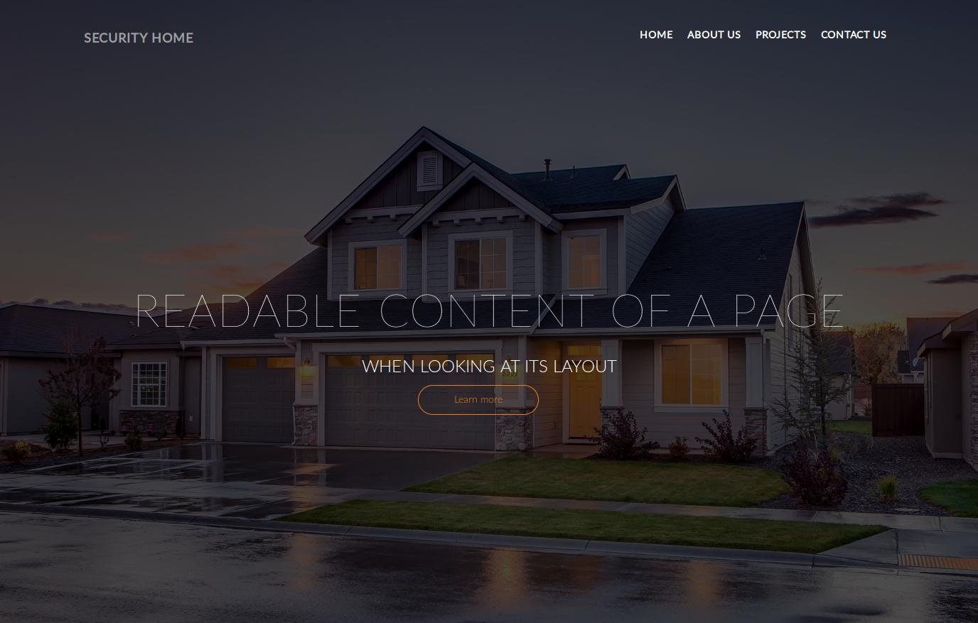 HTML to Wordpress Landing page