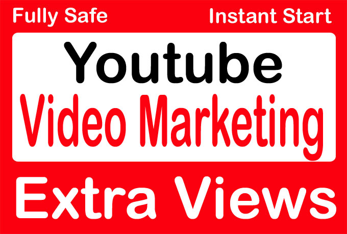 Organic YouTube video Promotion and Marketing Throw adwords