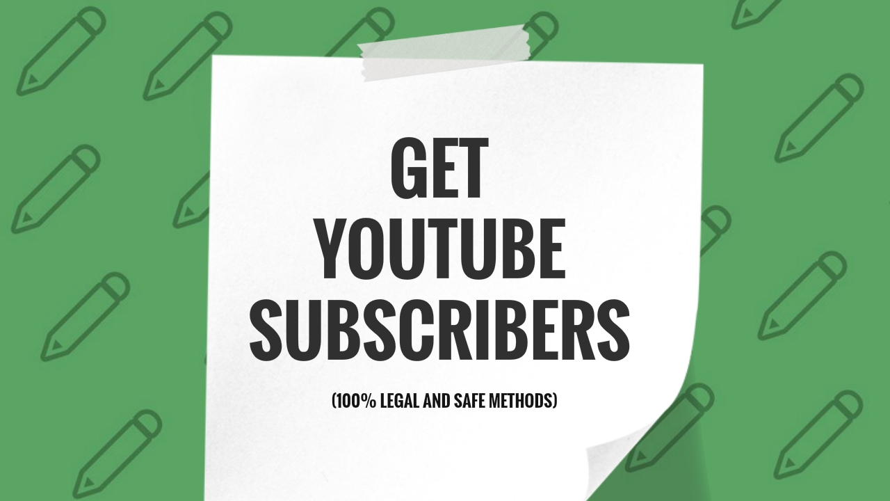 LEGAL AND SAFE WAY TO GET YOUTUBE SUBS WITHOUT GETTING BAN