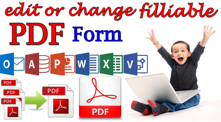 Edit PDF files or Create fillable PDF form