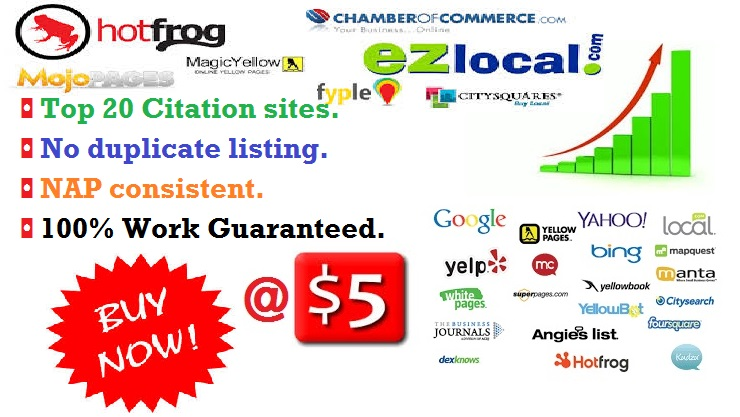 Citations Business Listing