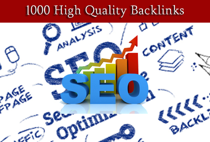 Build 1000 High Quality Backlinks