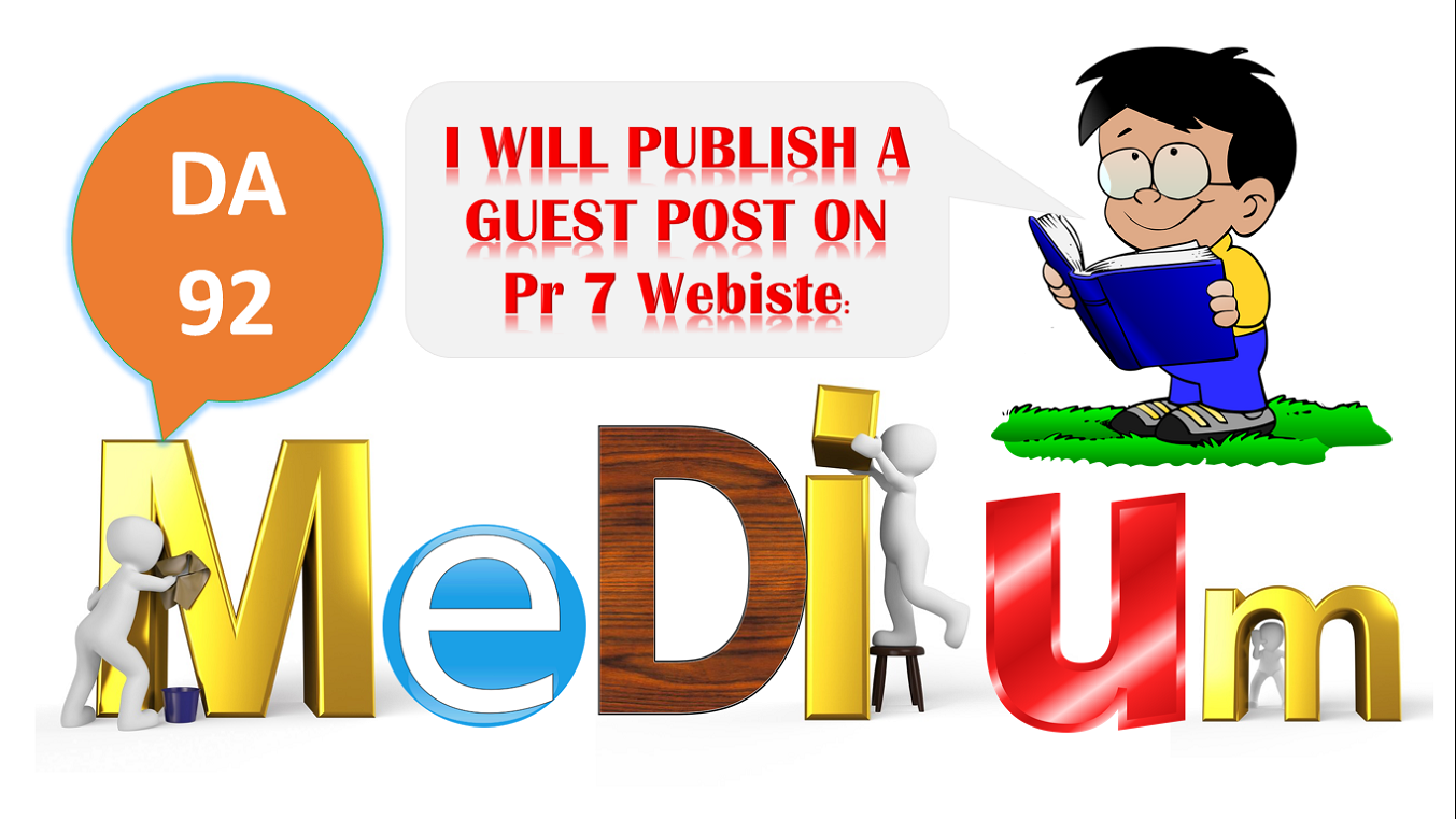 We'll Write an article about your topic & Publish VALUE ...