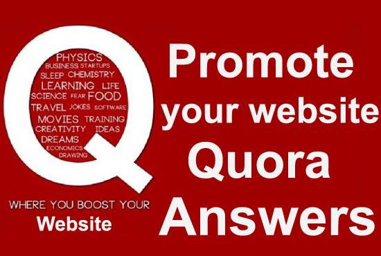 Offer 15 Quora answer with clickable Link.
