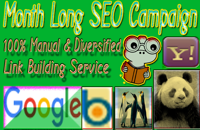 Month Long SEO Campaign