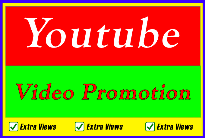 Organic high quality Youtube Video Promotion and Seo Search Ranking Marketing