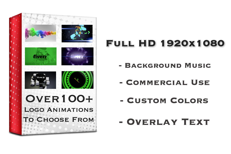 Amazing and Professional Logo Intro Animations 100+ Options