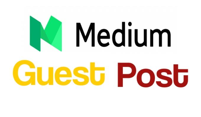 Write and publish Guest Post On Medium DA 91