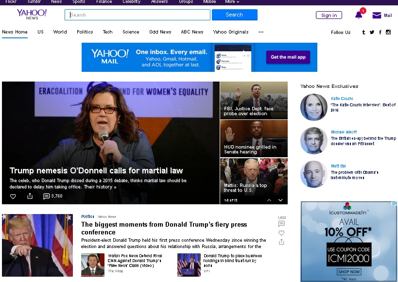 Write and Publish Guest Post on Yahoo News - DA 100 PA 93